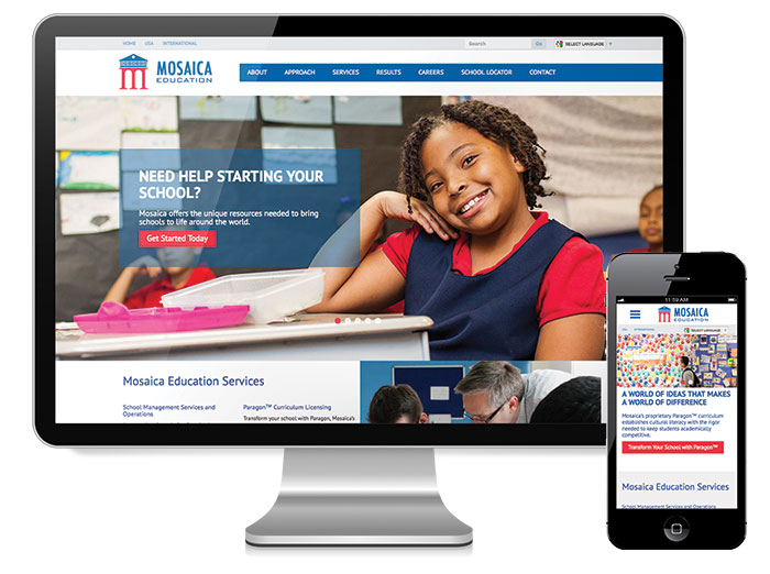 Mosaica-Education-Website-Template