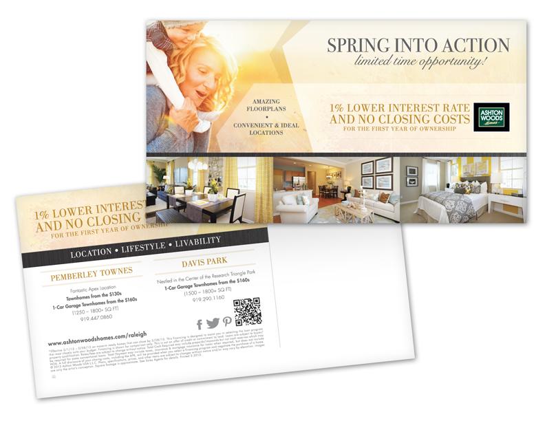 Ashton Woods Homes Mailer - Atlanta Web, Print, Multimedia, and ...