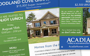 Acadia Homes and Neighborhoods