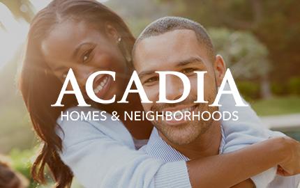 Acadia homes atlanta web print multimedia and for Acadia home builders