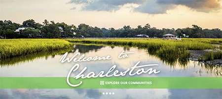 New Brock Built Charleston Website