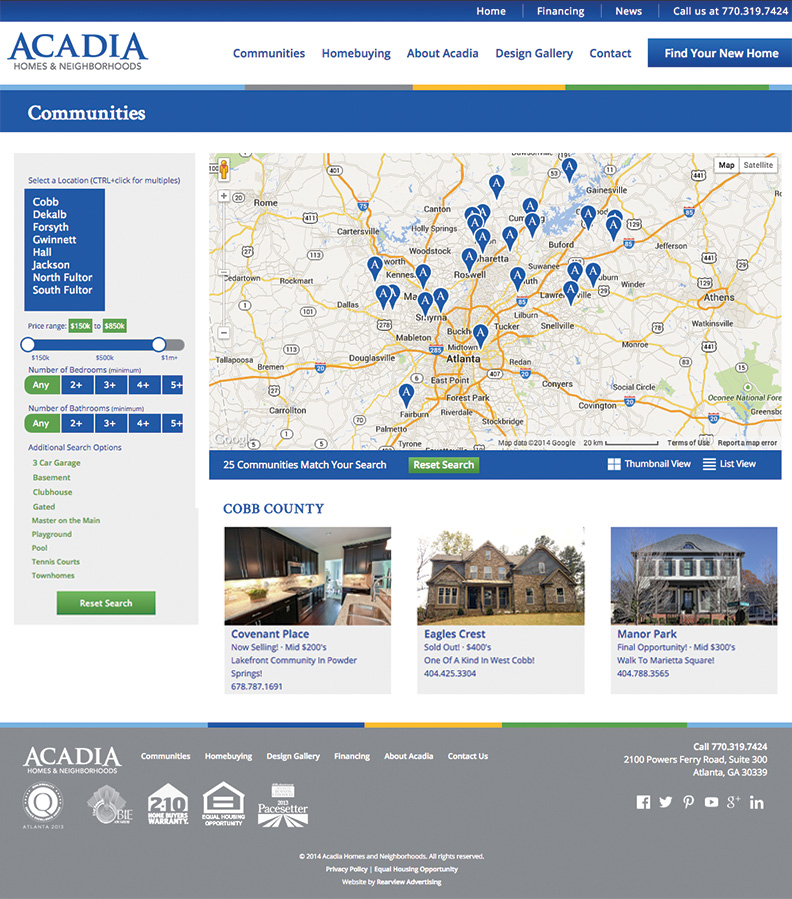 Acadia-Community-Page