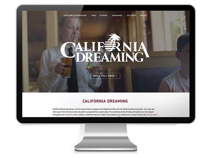 California-Dreaming-Website-Template