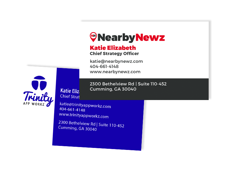 Nearby Newz Business Cards - Atlanta Web, Print, Multimedia, and ...