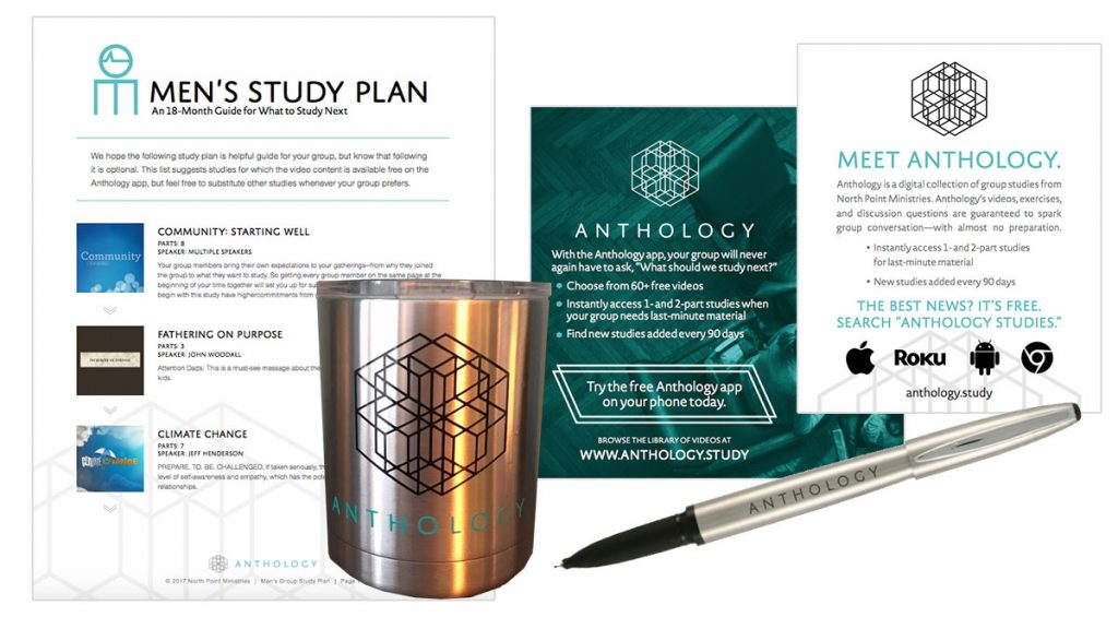 North Point client spotlight - Anthology Studies cohesive marketing design