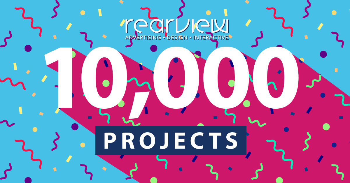 Rearview is celebrating 10,000 projects