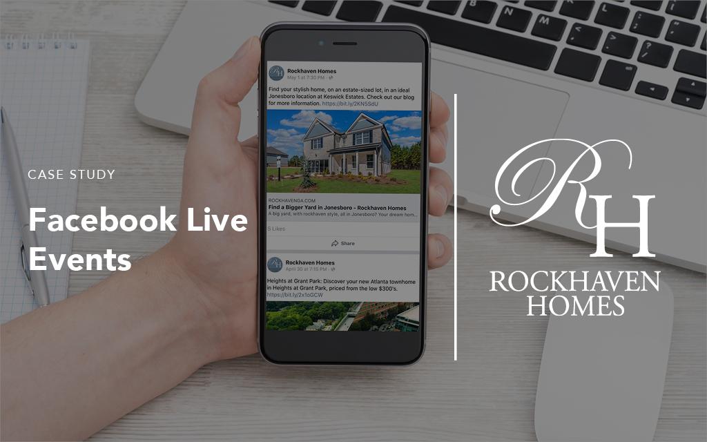 Facebook live events for Rockhaven Homes