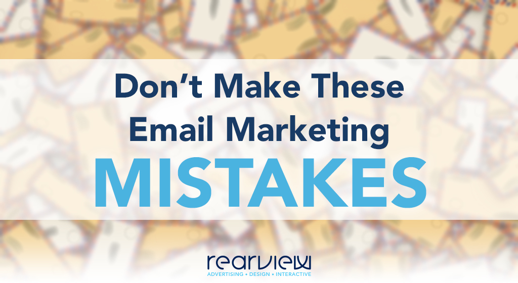 Don't make these email mistakes