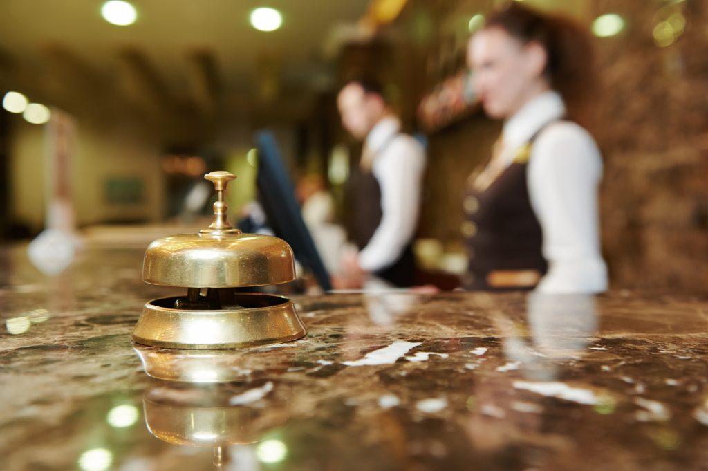 Your landing page is like a hotel lobby [ Dmitry Kalinovsky] © 123rf
