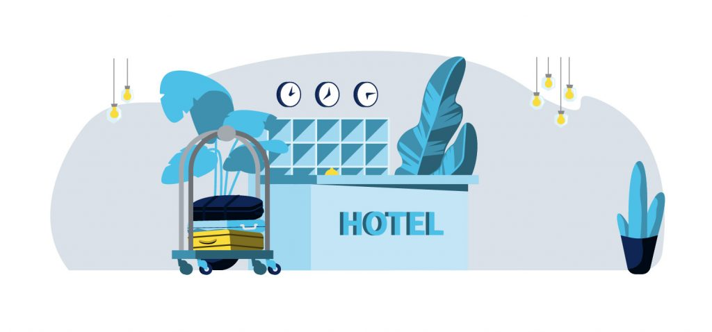 get more traffic to your website - it's like a hotel lobby