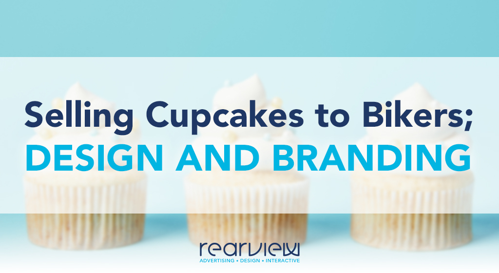 selling cupcakes to bikers: design and branding