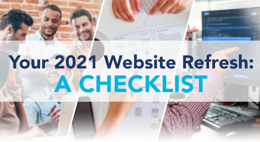 your 2021 website refresh
