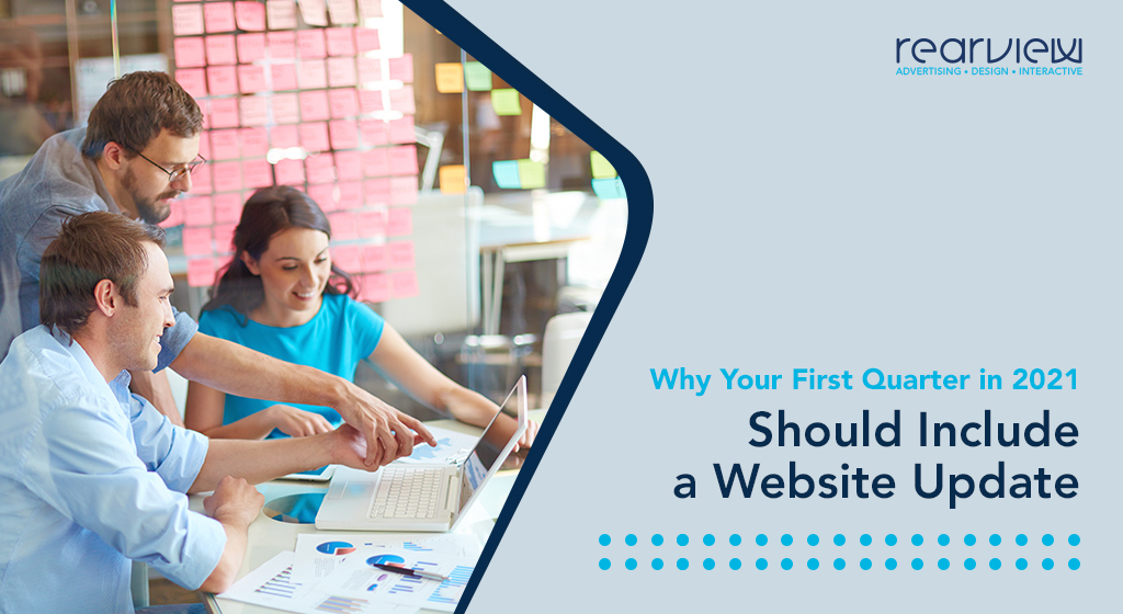 why your first quarter in 2021 should include a website update