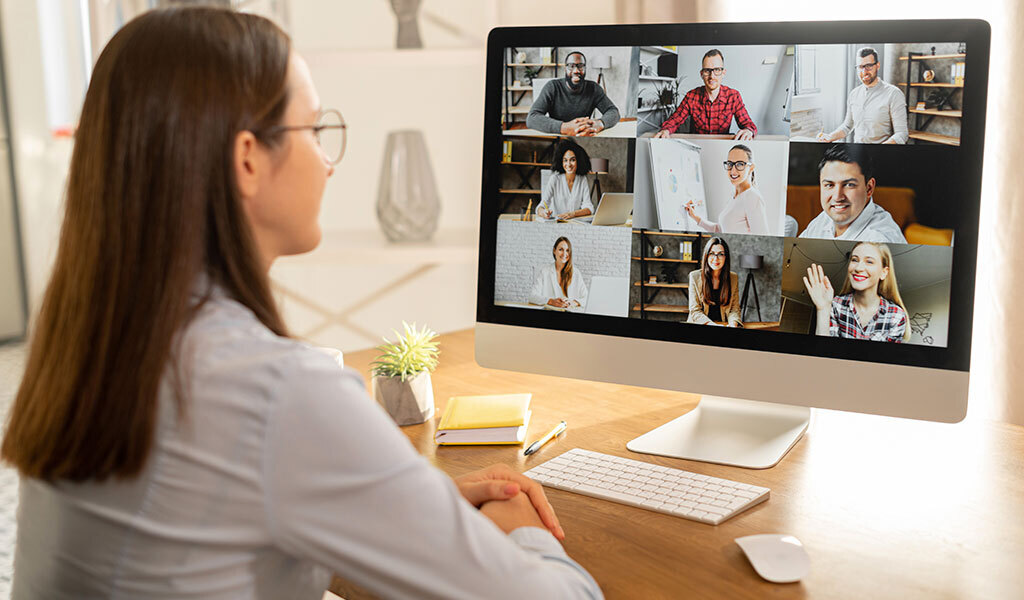 customer relationship management from quarantine includes video calls