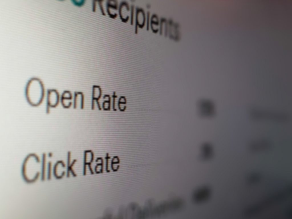 open rate and click rate are important stats in these email metrics changes from Apple